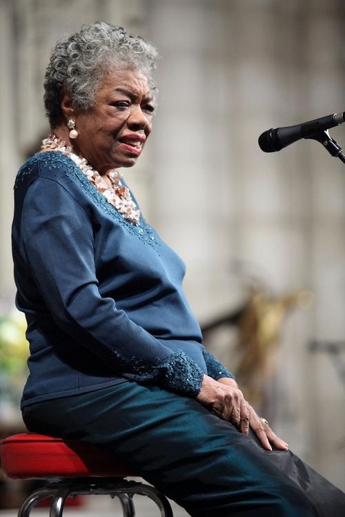 11. Майя Энджелоу (Maya Angelou) - афроамериканская писательница