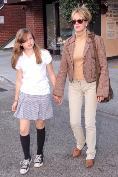 Мелани Гриффит с дочерью Стеллой