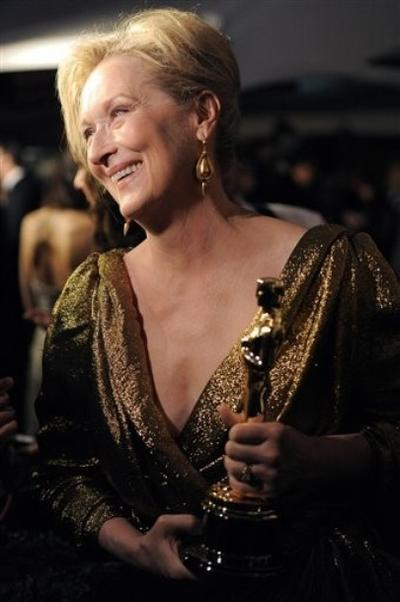 """Мерил Стрип / Meryl Streep на церемонии """"Оскар"""""""