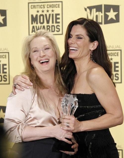 Мэрил Стрип (Meryl Streep) и Сандра Баллок (Sandra Bullock)
