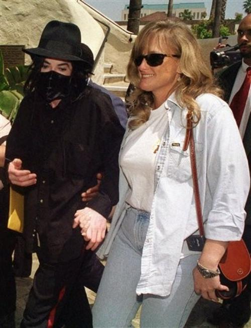 Майкл Джексон и Дебби Роу
