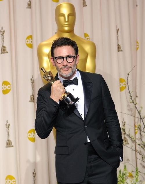 "Мишель Хазанавичус / Michel Hazanavicius на церемонии ""Оскар"""