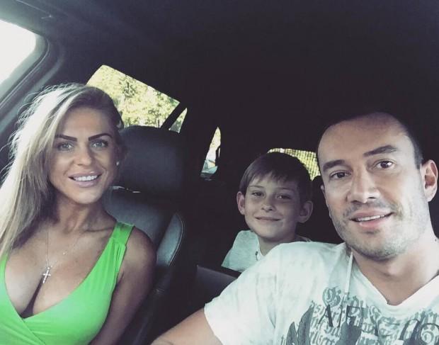 Михаил Терехин с семьёй