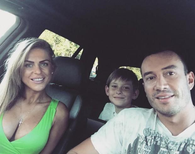 Михаил Терехин с женой Кристиной