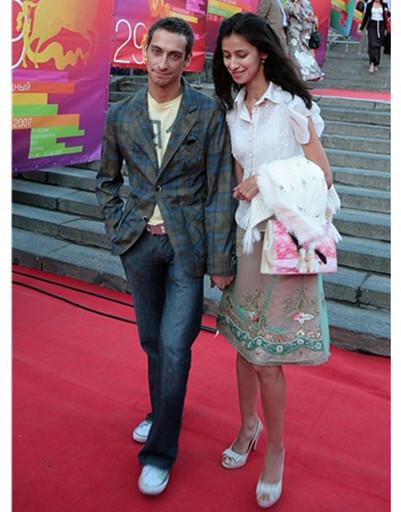 Модная пара Куркова-Ткаченко