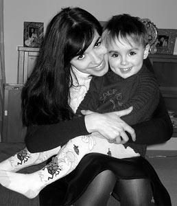 Надя Грановская с сыном