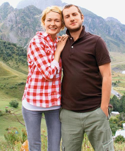 Надя Михалкова и Резо Гигинешвили переехали в Грузию
