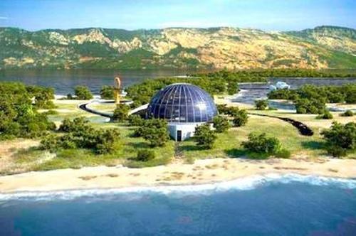 Экологический дом Наоми Кэмпбелл на одном из островов Турции