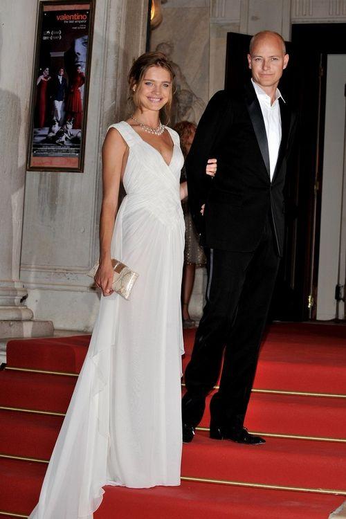 Наталья Водянова с мужем