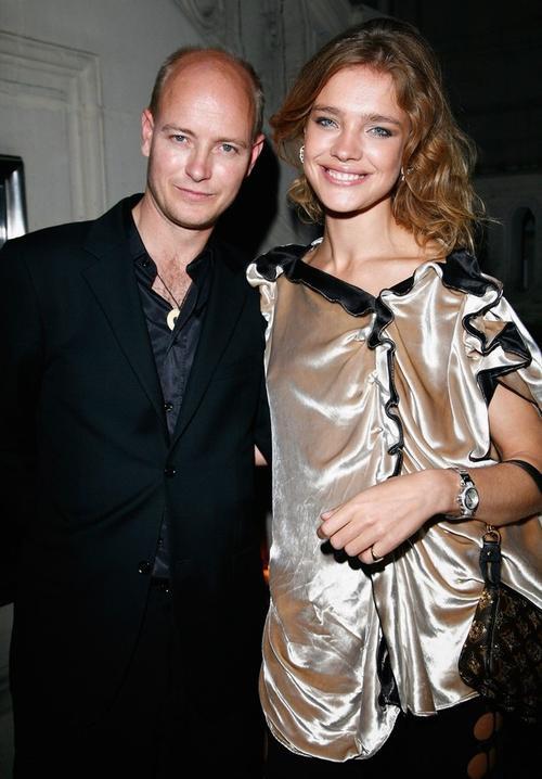 Наталья Водянова со своим мужем Джастином Портмэном
