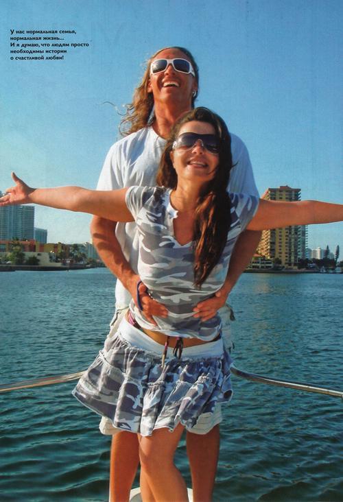 Наталья Королева и Тарзан (Сергей Глушко)