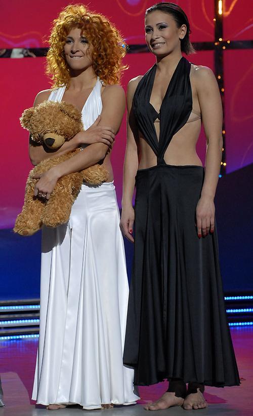 Екатерина Бухтиярова (второе место) и Наталья Лигай