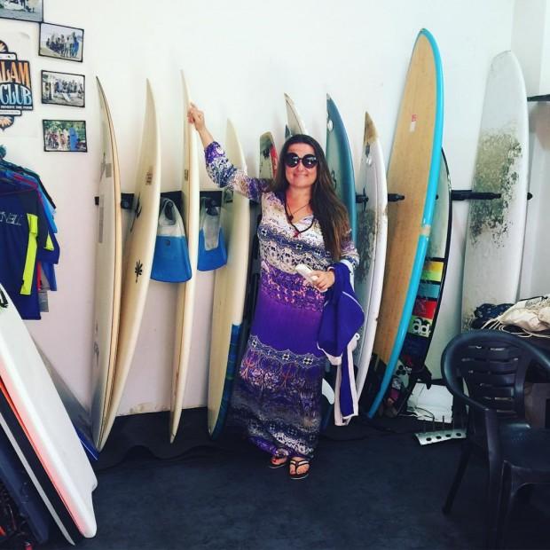 Могилевская продолжает путешествовать по Индии