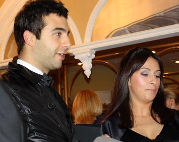 Иван Ургант с любимой женой Наталией Кикнадзе