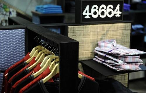 """Линия модной """"46664"""" Нельсона Манделы"""