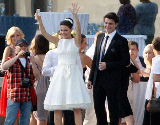 Свадьба Матвеева и Боярской