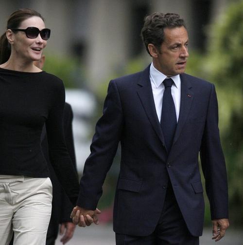 Николя Саркози / Nicolas Sarkozy и Карла Бруни / Carla Bruni