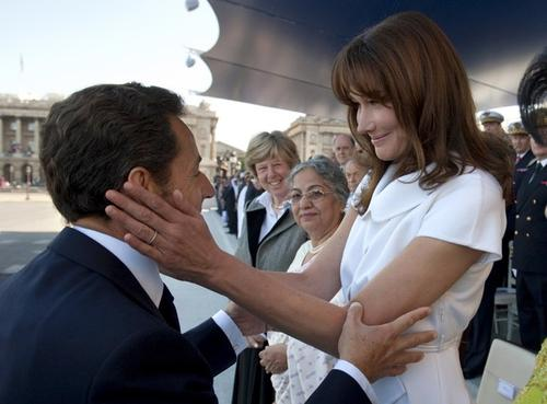 Николя Саркози / Nicolas Sarkozy и Карла Бруни-Саркози / Carla Bruni-Sarkozy