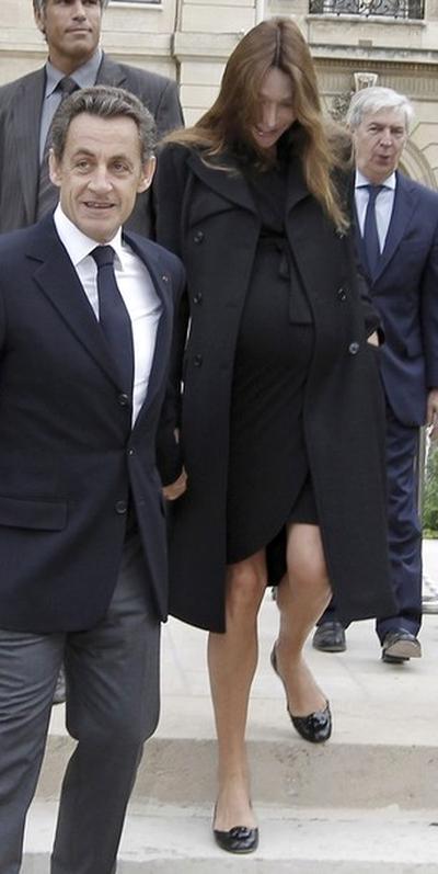 Николя Саркози и Карла Бруни-Саркози