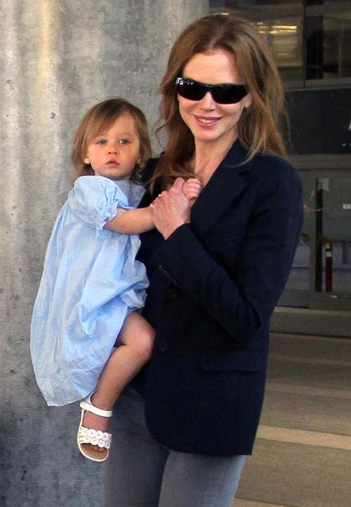 Николь Кидман с дочерью Санди-Роуз