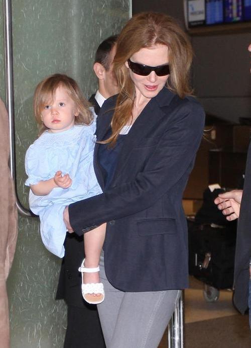 Николь Кидман / Nicole Kidman с дочерью Санди-Роуз