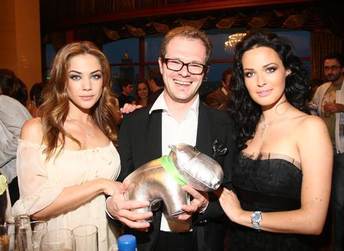 Группа «NikitA» с главным редактором Playboy Владом Фисуном