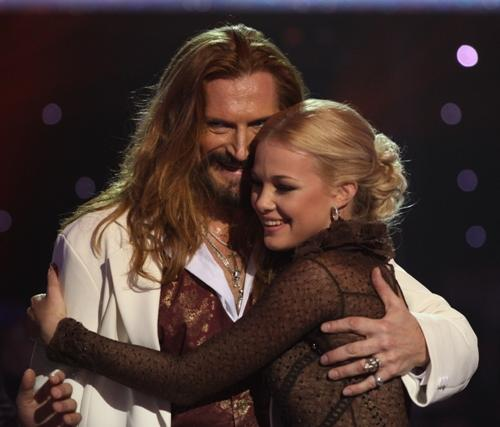 Никита Джигурда со своей партнершей Юлией в украинском проекте «Танцы со звездами»