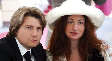 Николай Басков и экс-супруга Светлана Шпигель