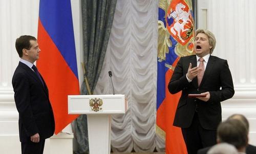 Николай Басков в Кремле
