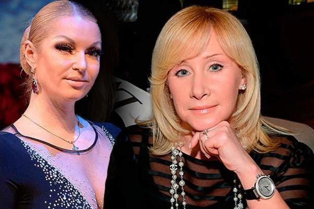 Оксана Пушкина и Анастасия Волочкова