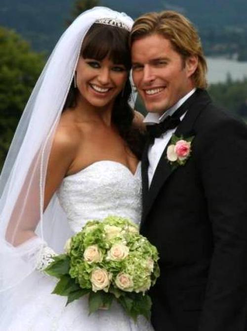 У Оксаны Федоровой и Филиппа Тофта была красивая свадьба