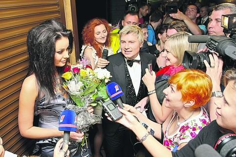 Оксана Федорова и Николай Басков в Витебске