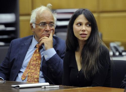Оксана Григорьева в суде