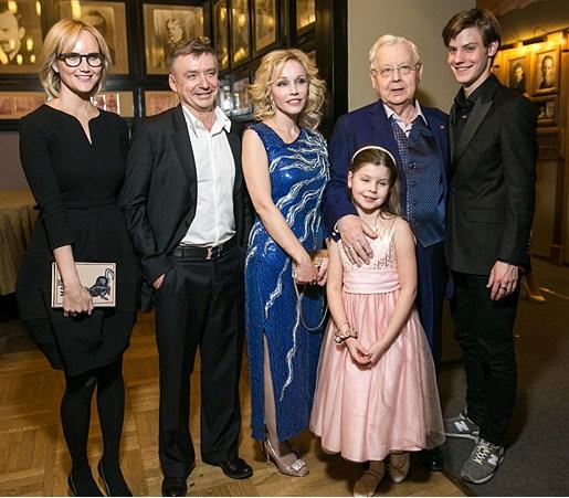 Олег Табаков отметил свое 80летие