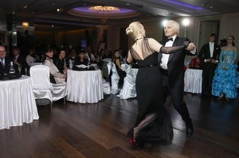 Олег Скрипка с супругой Натальей