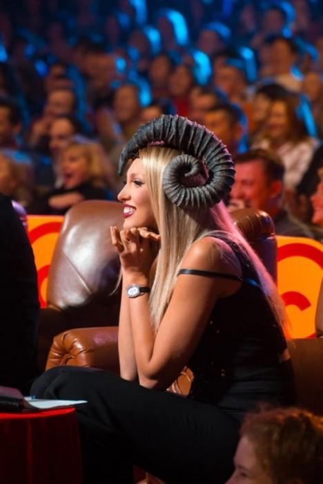 Ольга Полякова на Лиге смеха