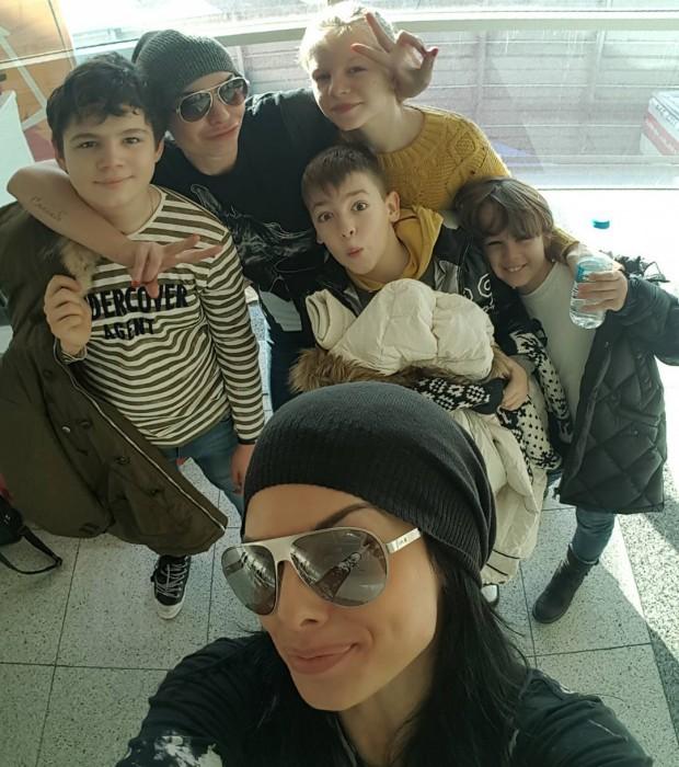 Ольга Романовская в Турции