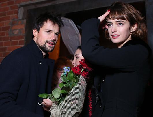 Ольга Зуева и Данила Козловский
