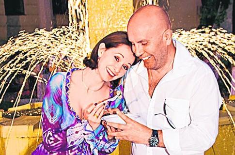 Ольга Кабо с вторым мужем Николаем