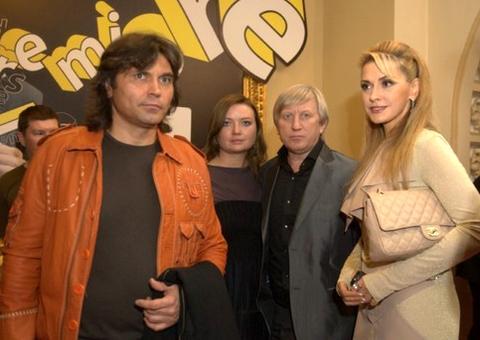 Ольга Сумская с мужем