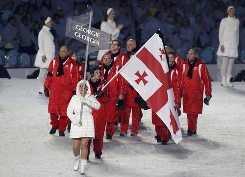 Грузинские атлеты скорбят по своему соотечественнику