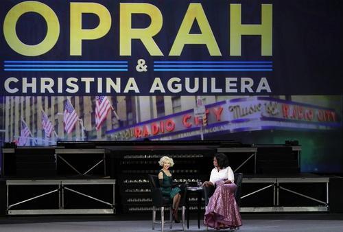 Кристина Агилера / Christina Aguilera и Опра Уинфри / Oprah Winfrey