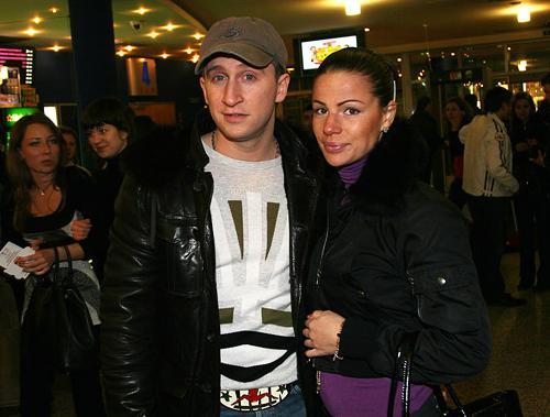 Оскар Кучера с супругой Юлей