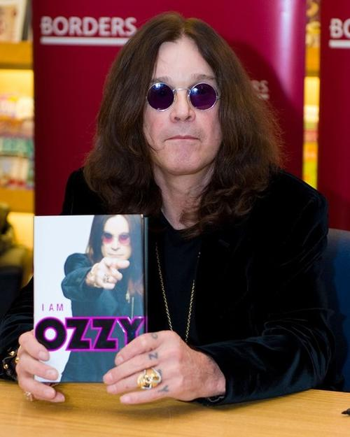"Оззи Осборн на презентации своей книги ""I Am Ozzy"""