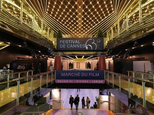 Palais des festivals в Каннах, где ежегодно проходит Каннский кинофестиваль
