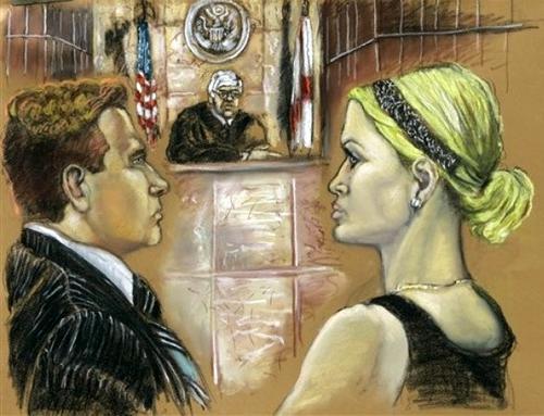 Пэрис Хилтон в суде Маями
