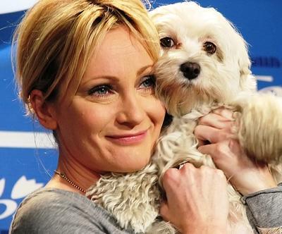 Патрисия Каас со своей собакой Текилой