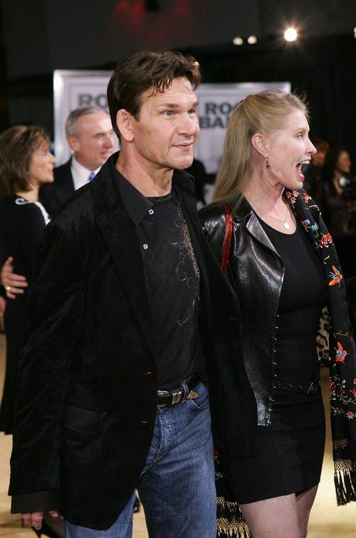 Патрик Суэйзи и его жена Лиза Ниеми