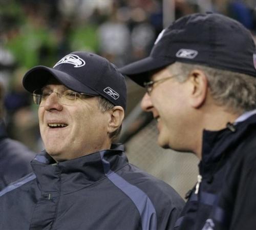 Пол Аллен (слева)
