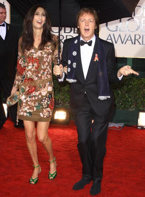 Пол Маккартни / Sir Paul McCartney и Нэнси Шевелл / Nancy Shevell